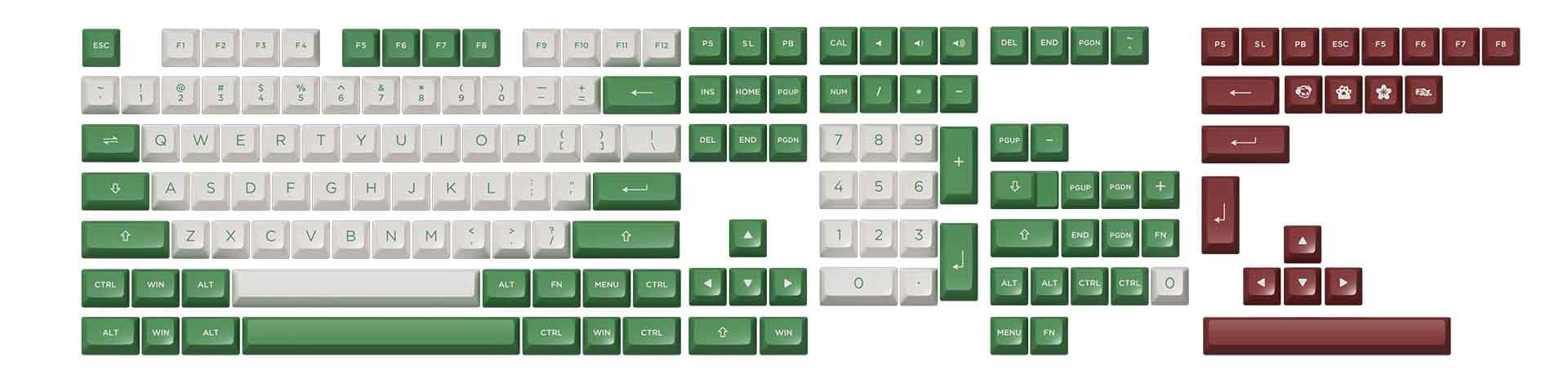 akko-keycap-set-matcha-red-bean-pbt-double-shot-asa-profile-158-nut