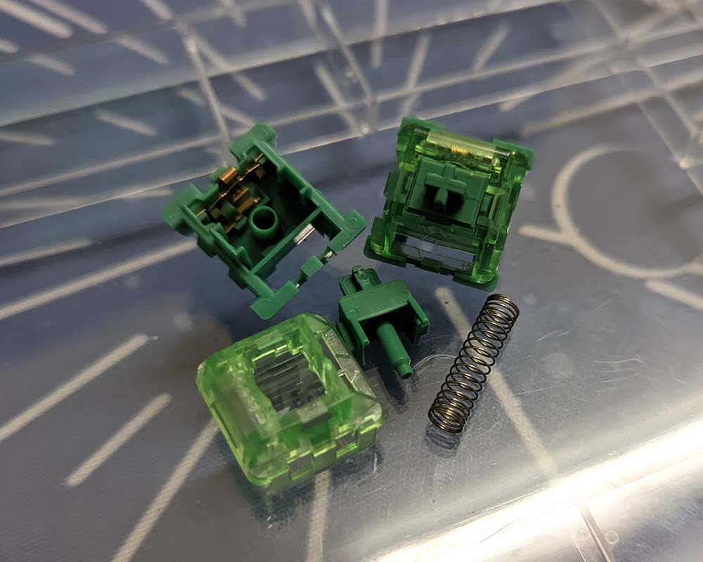 AKKO CS Switch - Matcha Green