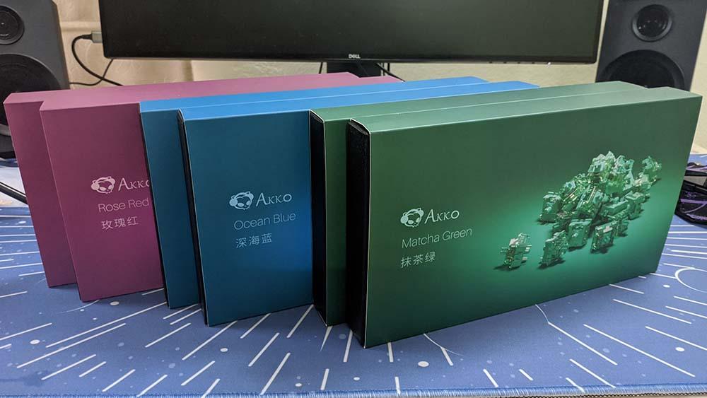 Hộp của AKKO CS Switch