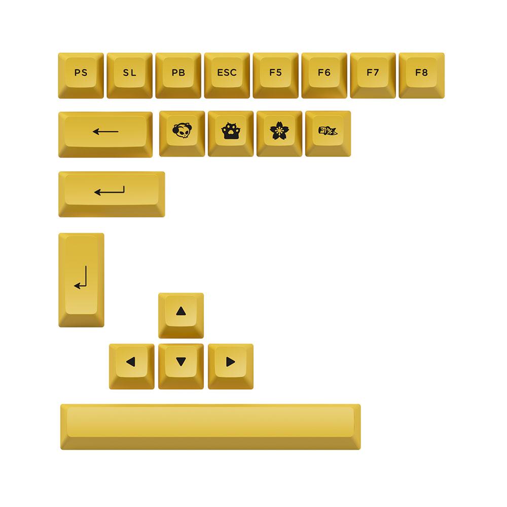 ban-phim-co-akko-3098n-multi-modes-black-gold-extra-keycap